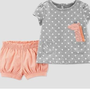 Carter's Two Piece Newborn Outfit